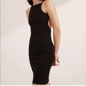 Aritzia community haartman dress sz xs black